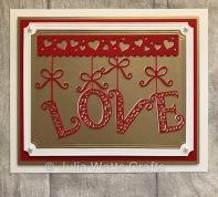 Tutti Designs Hanging Love