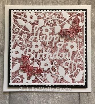 Tutti Designs Happy Birthday Square