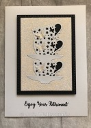 Tutti Designs Stacked Butterfly Cups Cross Stitch Rectangles
