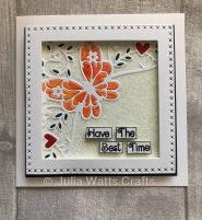 Tuttit Designs Butterfly Corner Cross Stitch Squares