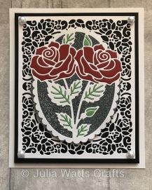Tutti Designs Rose Flower Frame