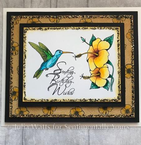 Trudie Howard Wings Hummingbird 1