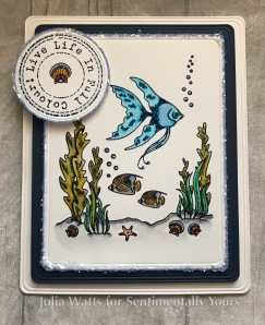 Sentimentally Yours Angel Fish Seahorses