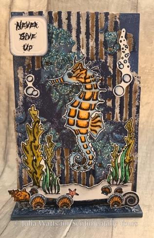 Trudie Howard Under the Sea Seahorses 1