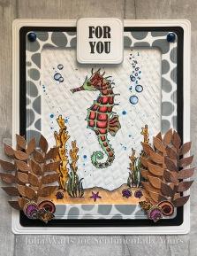 Trudie Howard Under the Sea Seahorses 2