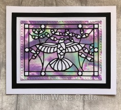Tutti Desings Hummingbird Stained Glass