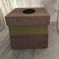 Pentart Tissue Box Kit Sample 1