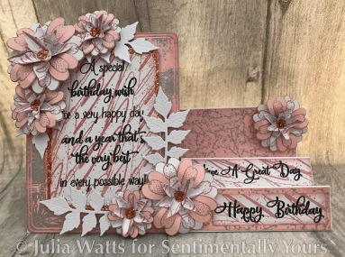 SY Big Birthday Verse A Very Happy Day Candy Pink