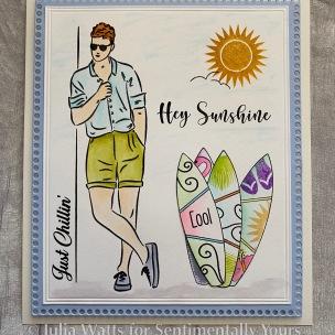 SY Summer Fashionistas Mr Sunshine