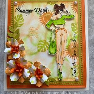SY TH Summer Fashionistas Sunshine Happy